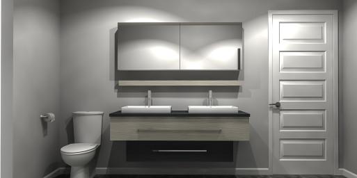 3D Salle de bain centre Zone AktuL