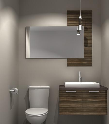 3D salle d'eau condo centre Zone AktuL