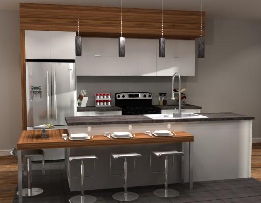 3D#1 Cuisine DROITE-Zone AcTu-L Duplex 1