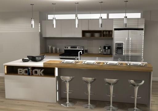 3D#1 Cuisine Maison urbaine#1 Zone AkTu-L